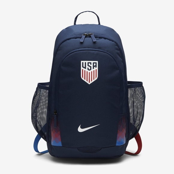 c59ddb3ca9 Nike USA Stadium Backpack Midnight Navy Blue White